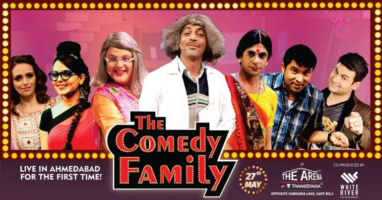 The Comedy Family at The Arena By TransStadia in Ahmedabad, May 27th 2017